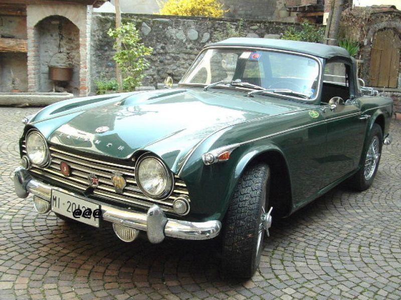 For Sale Triumph Tr4a Irs