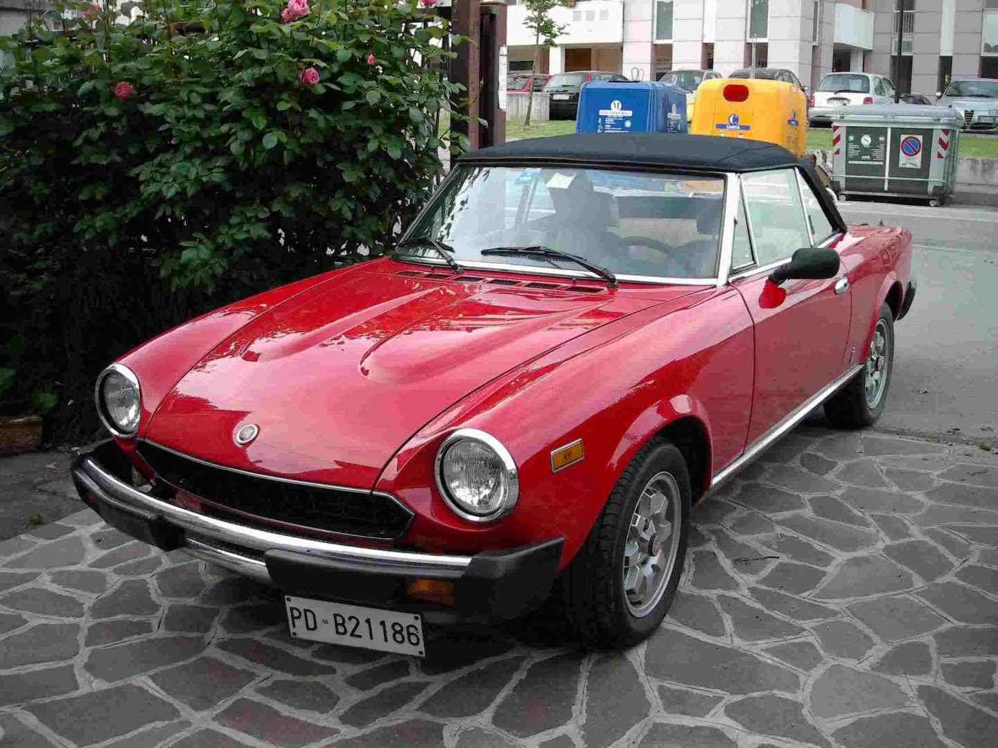 FIAT 124 spider d'epoca - Automobile.it