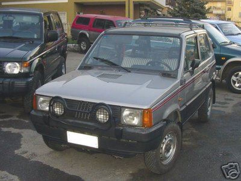 Fiat Panda 4X4 1986 STEYERs PUCH (advert expired)