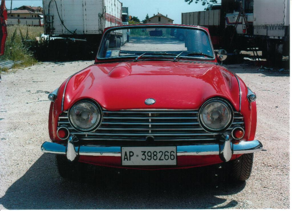 For Sale Triumph Tr4 To Irs