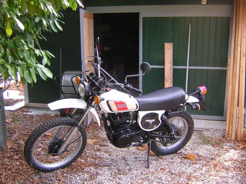 Yamaha xt 500 for sale