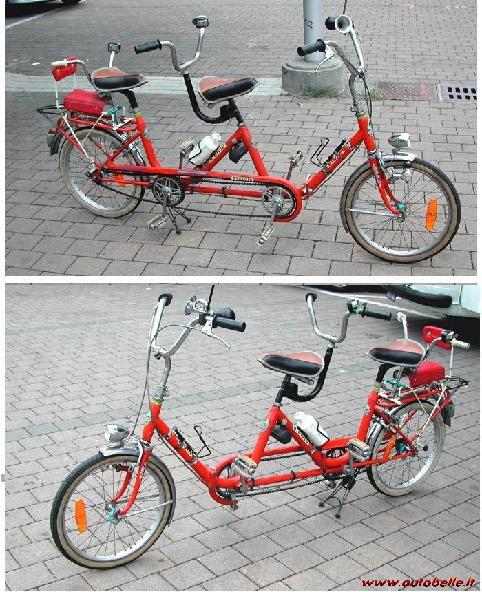 Vendo Tandem Rara Bici Pieghevole Tipo Graziella 1960