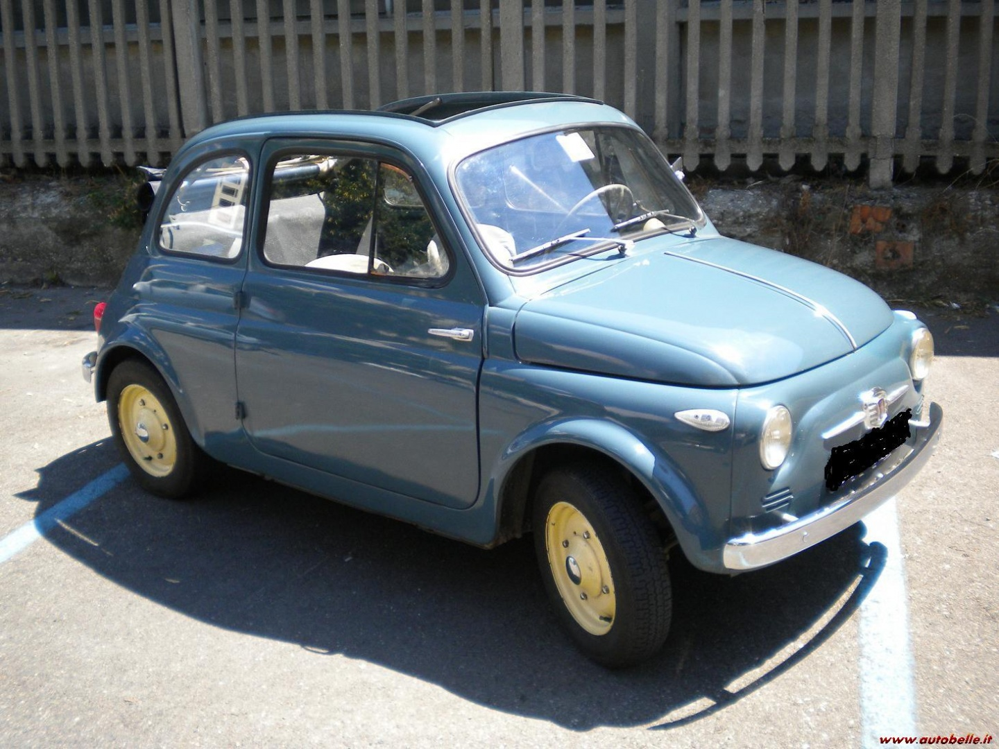 For Sale Fiat 500 N 1957 Fixed Windows Advert Expired