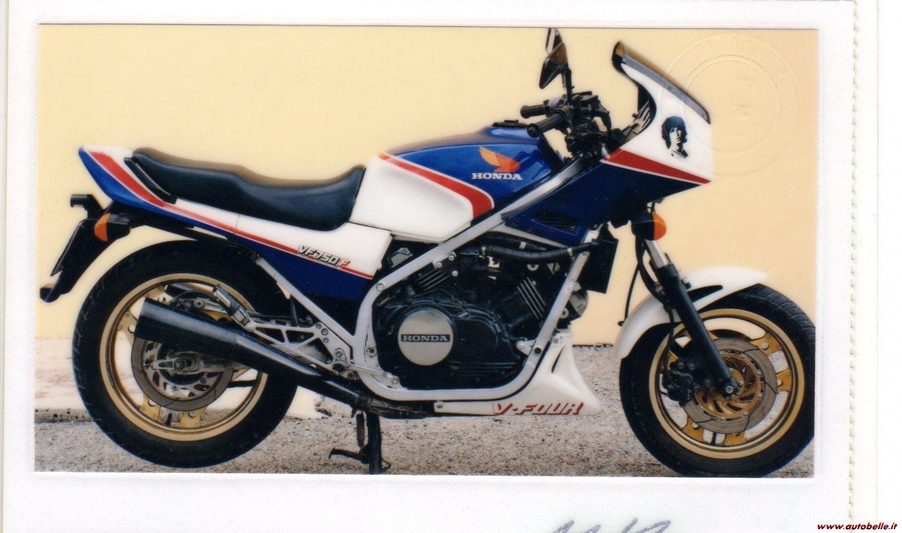 Honda VF 750 F 1983 - Galerie moto - MOTOPLANETE