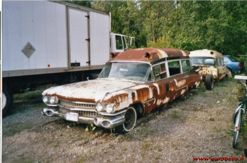 Looking To Buy Cadillac Meteor Miller Ambulance Limo Style 1959