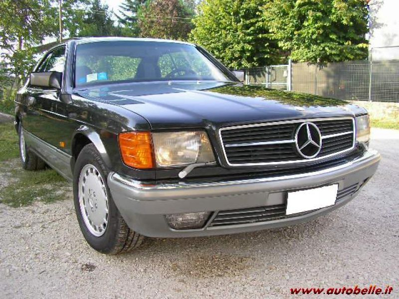 Mercedes 560 SEC ASI coupons mercedes (advert expired)