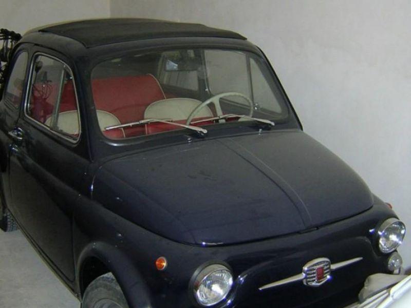 Fiat 500 F Del 1971 Blu Scuro Interni Rossi Annuncio Scaduto