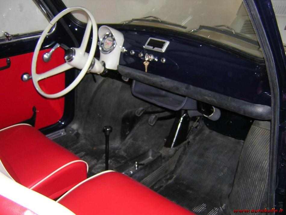 For Sale Fiat 500 Fs Of The 1971 Blue Dark Color Red Insid