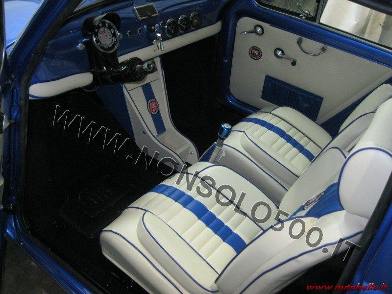 Vendo Interni Tappezzeria Sportiva Fiat 500 Epoca Dflr