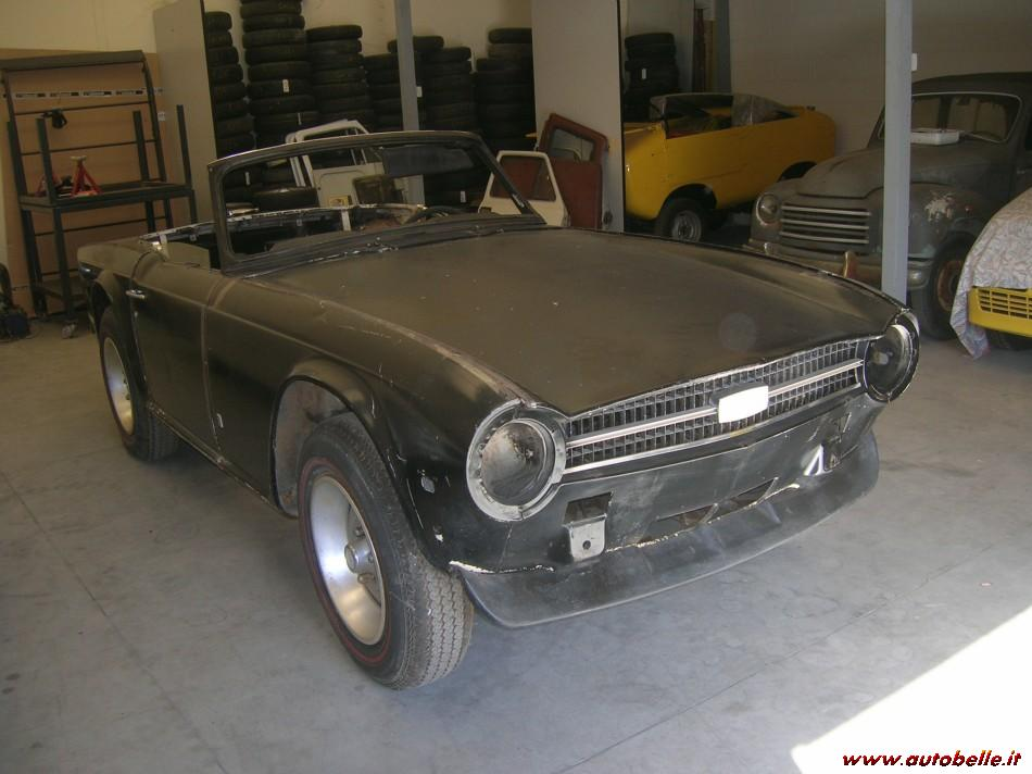 For Sale Triumph Tr6 1976 Ready For Restauration