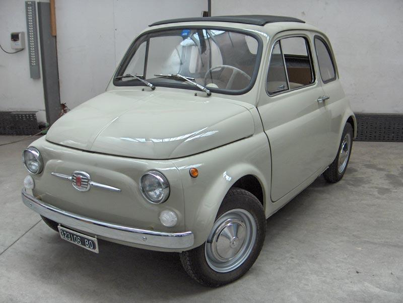 For Sale 1967 Fiat 500f Complete Restauration