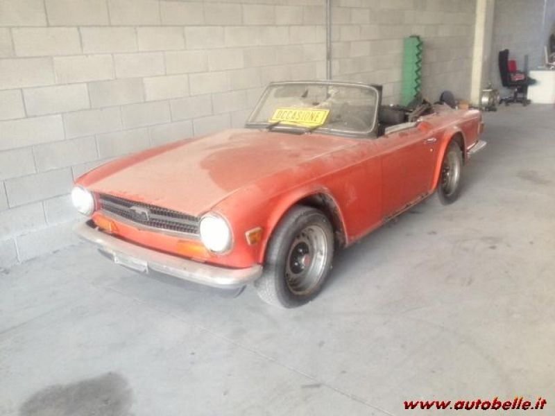 For Sale Triumph Tr6 Pthe