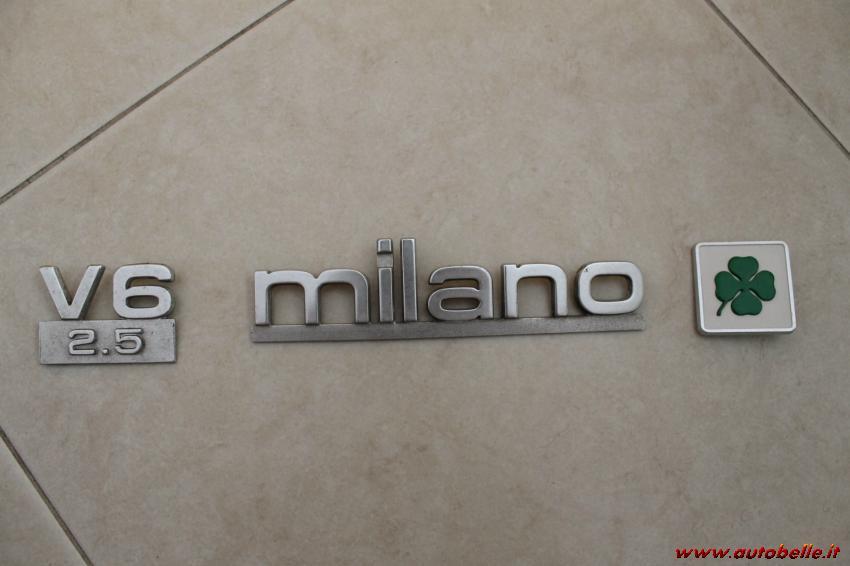 new style 0325d 46ba8 For sale Alpha Milano/75 green v6/2500/quadrifoglio