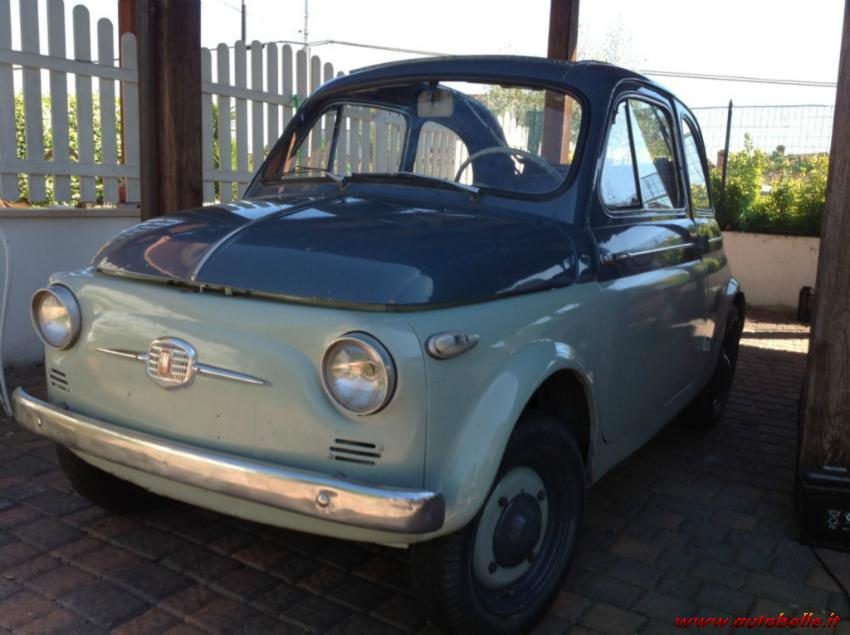 For Sale Fiat 500 Ns 1957