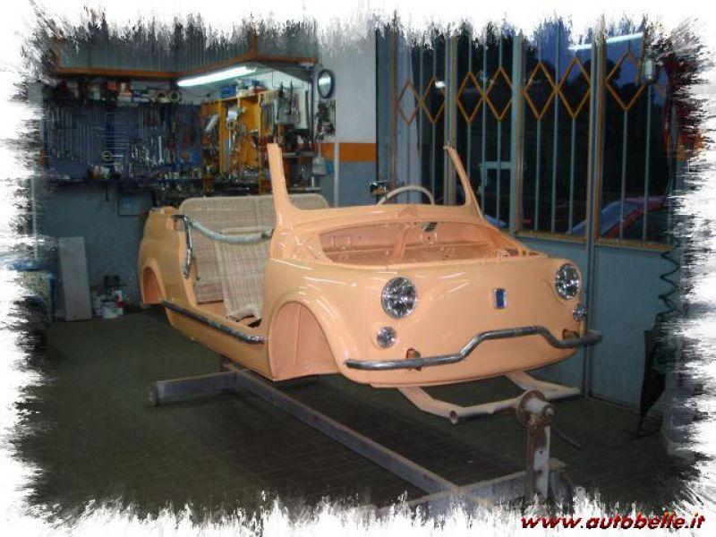 Fiat 500 Giardinieras Jolly Replica