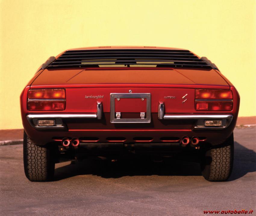For Sale Back Fanalini Lamborghini Urraco