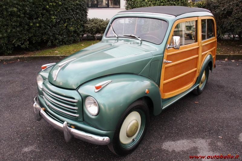 For Sale Fiat 500 C Giardiniera Wood