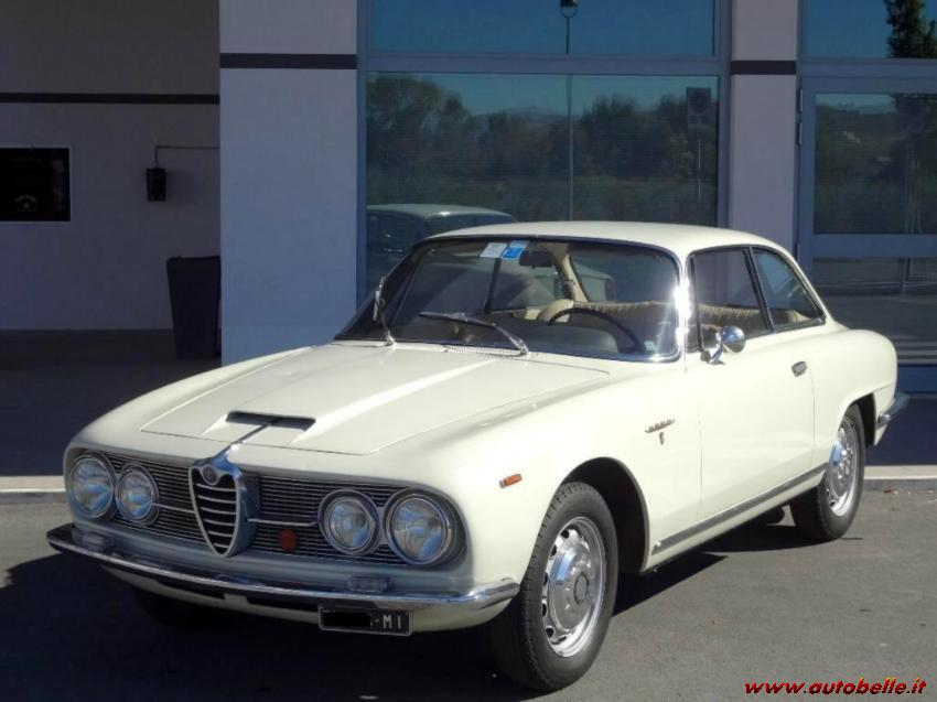 For Sale Alfa Romeo 2600 Sprint 62 Approved Asi