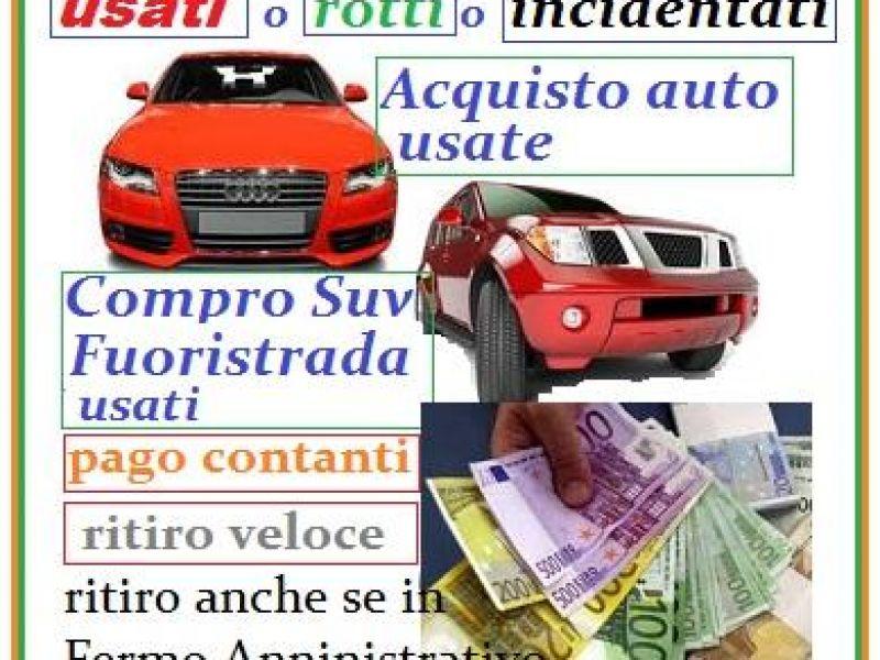 acquisto auto usate in contanti