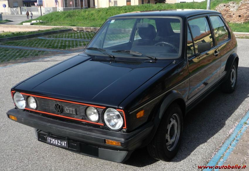 vendo vendo golf gti 1a serie anno 1979. Black Bedroom Furniture Sets. Home Design Ideas