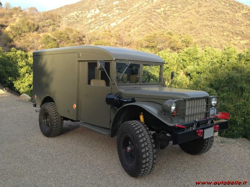 1958 Dodge Power Wagon Ambulance M42