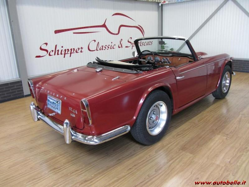 For Sale I Sell Triumph Tr4 To Irs Rossa
