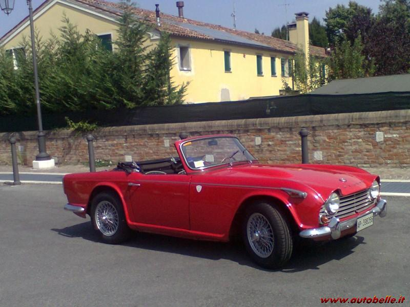 For Sale I Sell Triumph Tr4 To Irs