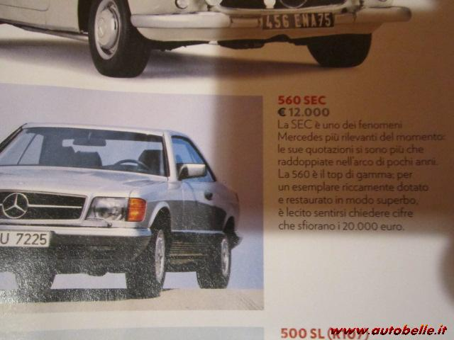 For sale Mercedes BENZ 500 SEC 1987 ASI+CRSs AITO Equal to