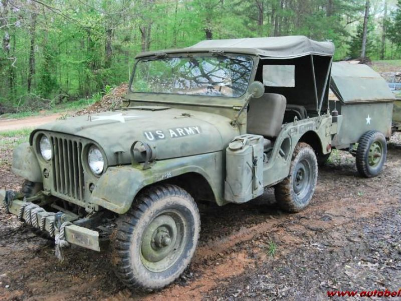Willys Military Jeep Sale >> Jeep Willys Military 4x4 Ws 2 Trailerses