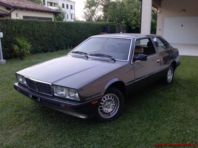 Vendo Maserati Biturbo Prima Serie 1983_Riverniciata