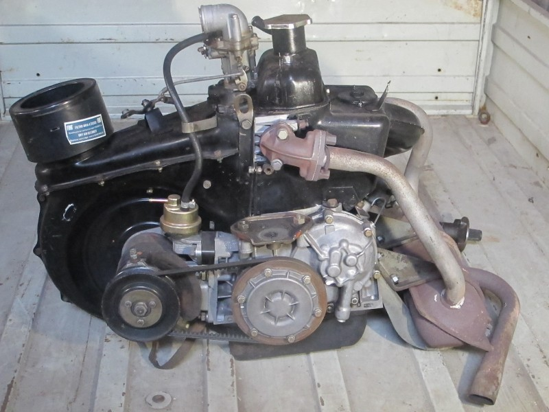 Motor Fiat 500 Rs I Complete Of Change And Seeds A