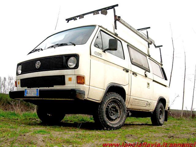 For sale volkswagen vw transporter syncro camper