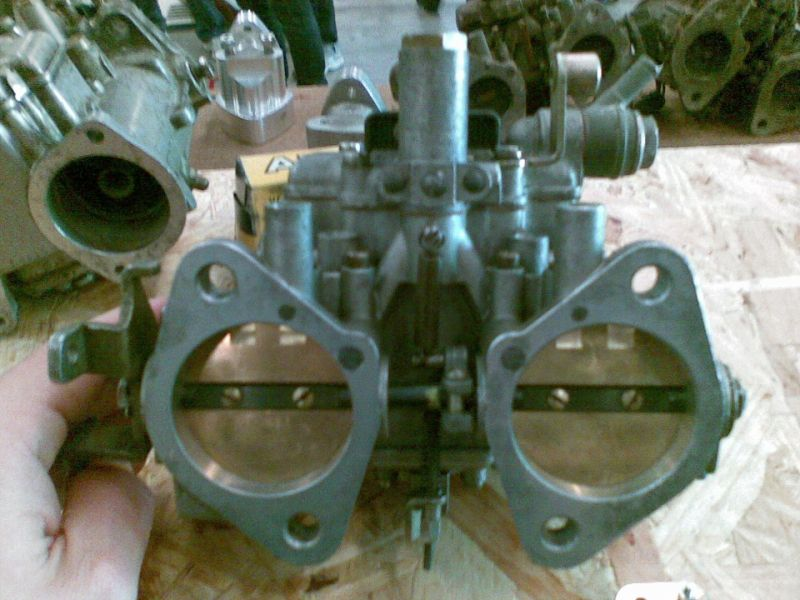 carburetors weber dellorto ABARTH GIANNINI 1100 TV (advert expired)