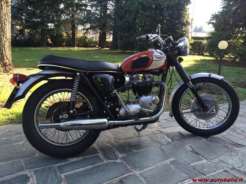 For Sale Triumph Bonneville T120r
