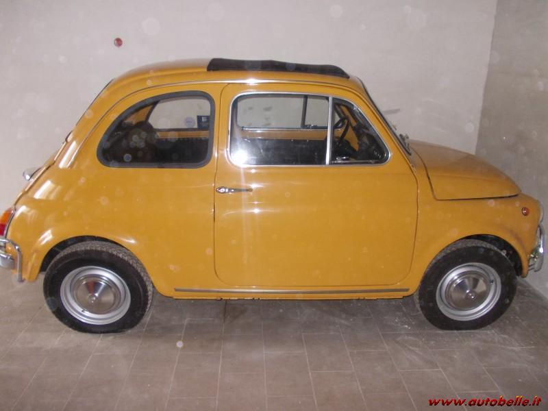 Fiat 500 Ls Of Epoch Yellow Positano