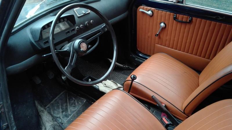 Vendo Vendesi Fiat 500 L Epoca 1971 Colore Blu Interni A