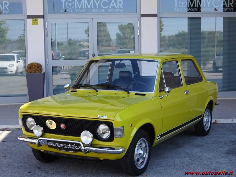 for sale fiat 128 rally i° confirmed series asi oro