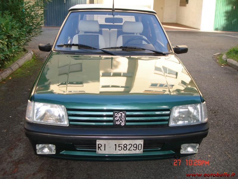 for sale peugeot 205 roland garros cabrio gpl 1990.