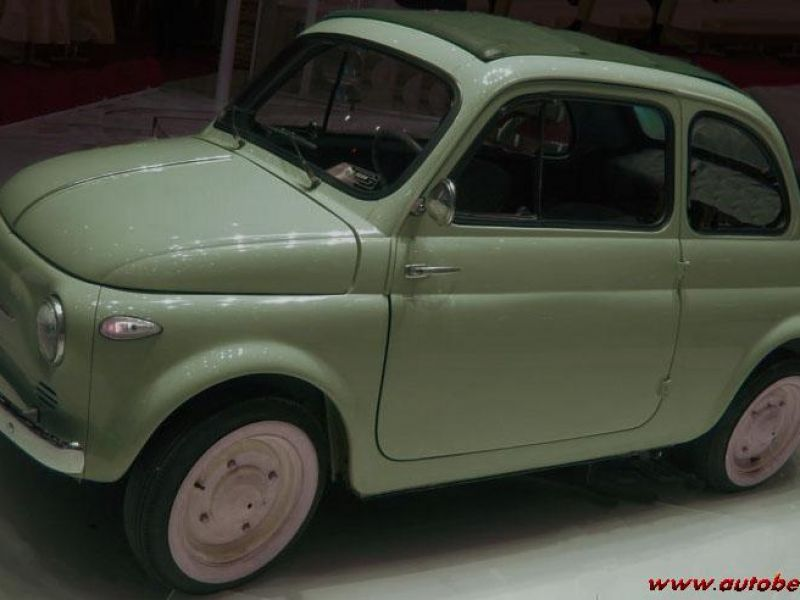 Fiat 500n Glasses Fixed First Serious Year 1957