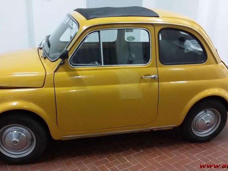 Vendo 500 l anno 1970 giallo Positano come nuova  1adf3aff7d0