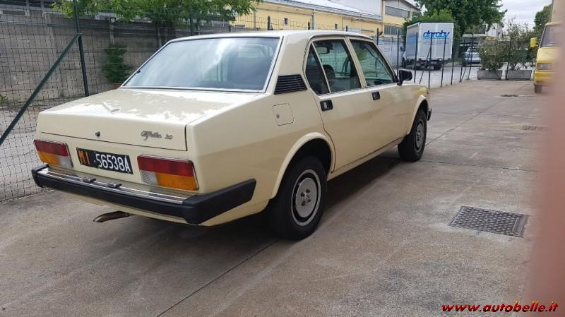 For sale alpha rome or alfetta 2 0 armored