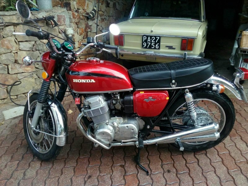 Vendo Honda Cb 750 Four K1 Del 1971