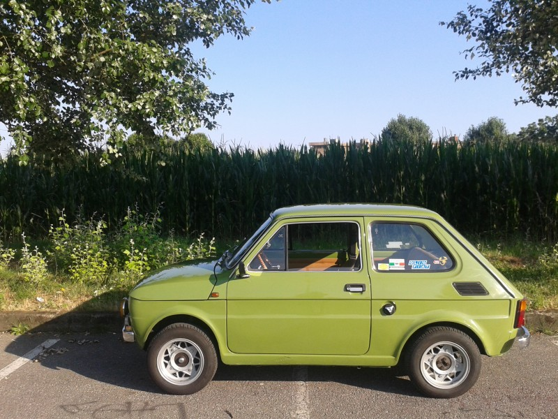 for sale fiat 126 ps rhyme series span 594cc 23cv