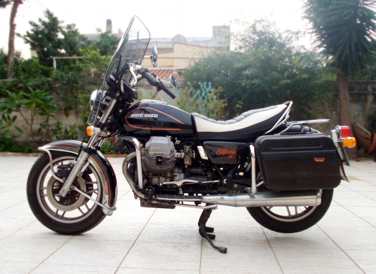 vendo moto guzzi california 2 1983 intonsa. Black Bedroom Furniture Sets. Home Design Ideas