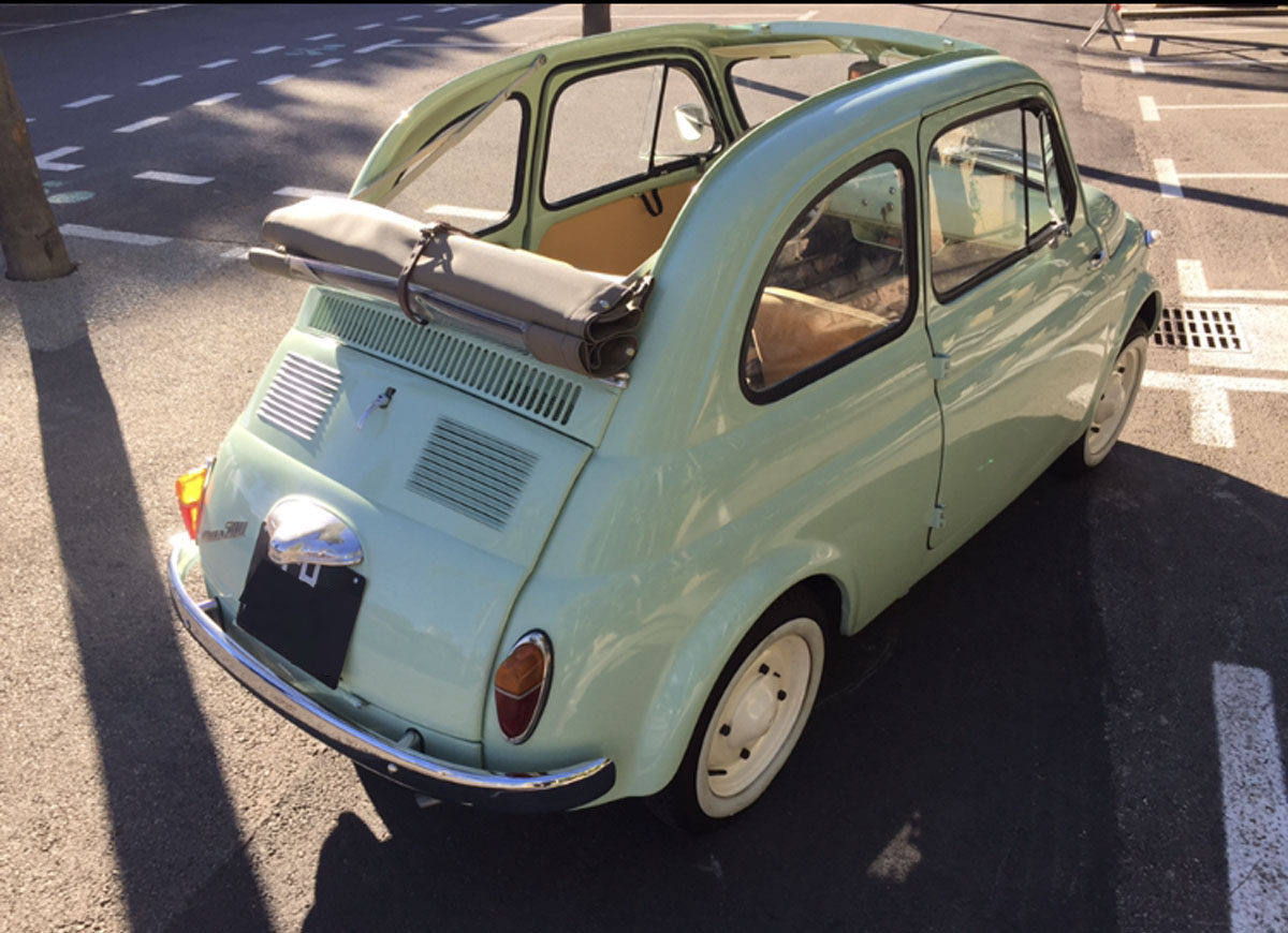 For Sale Fiat 500 Ns Fixed Glass