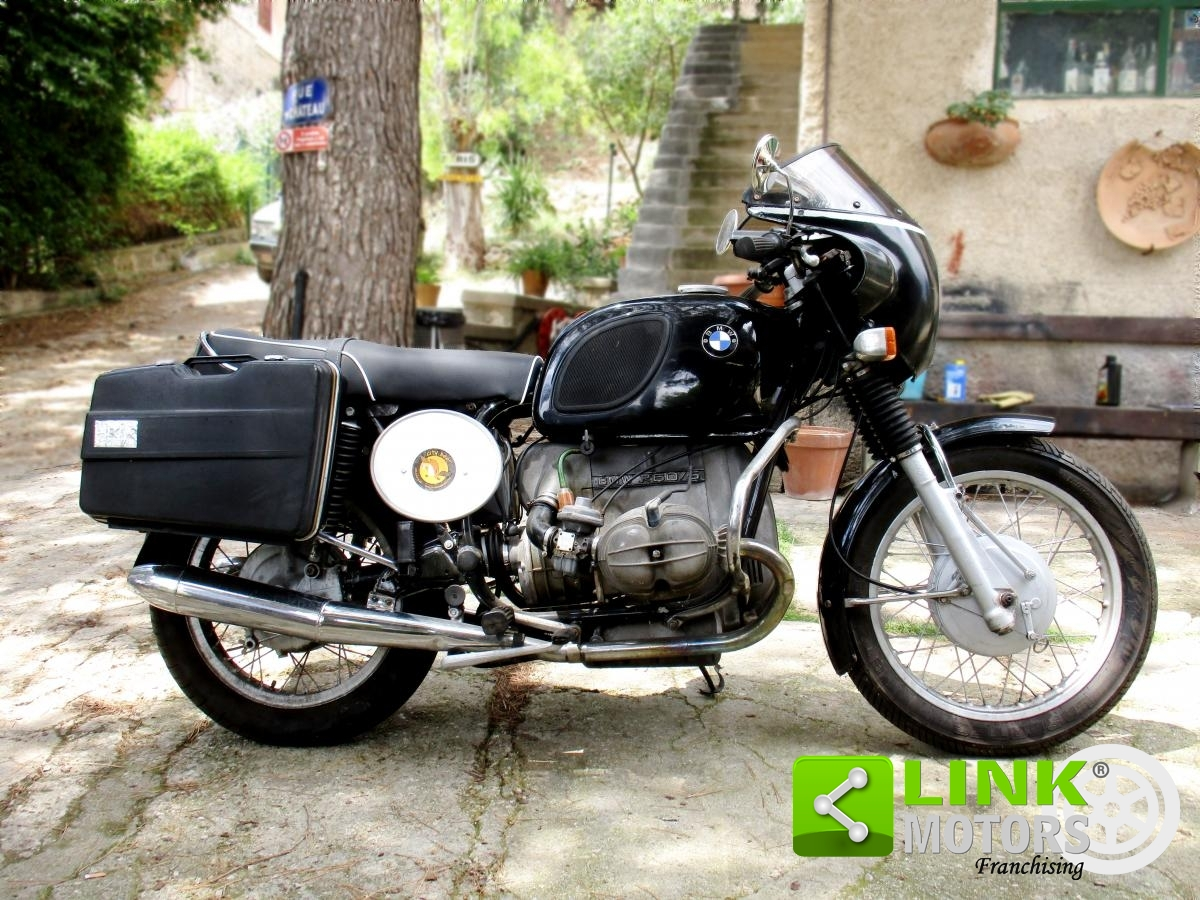 vendo bmw r60 5 600cc 1970 raro. Black Bedroom Furniture Sets. Home Design Ideas