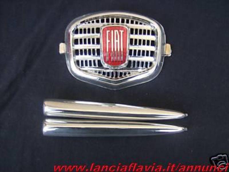 SPIDER FREGIO CENTRALE ALLUMINIO FIAT 750 VIGNALE COUPE/'