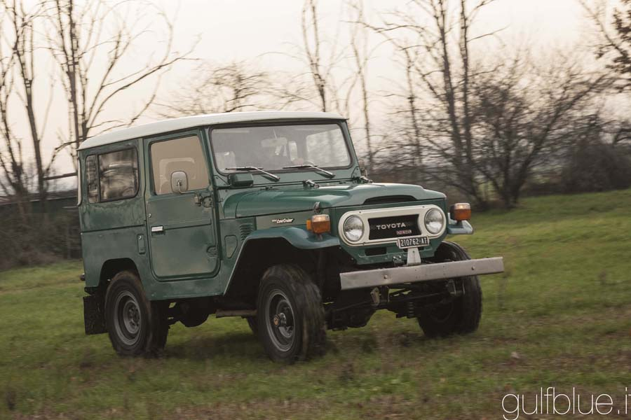 For sale Toyota La nd Cruiser BJ 40, Rustic green, 1977