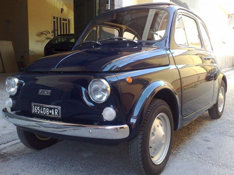 41 5000 Fiat 500 R Type 126 Totally Restored