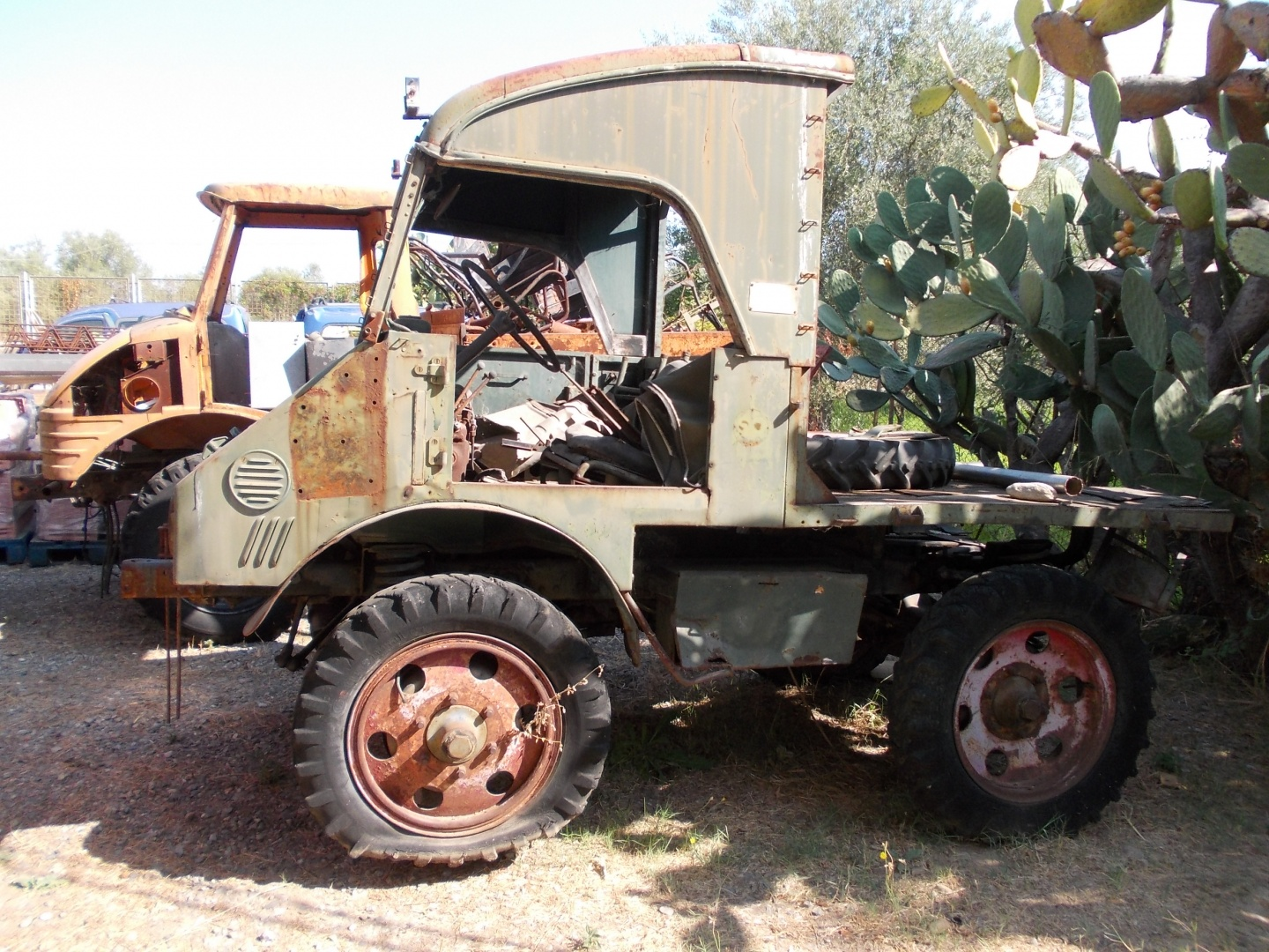 Unimog For Sale >> For Sale I Sell Unimog Mercedes 411 Of 1954